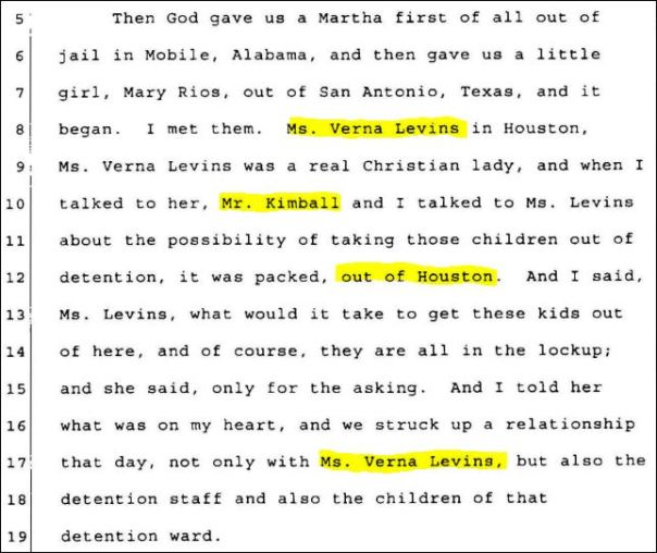 Mack Ford  received zero compensation for taking kids from the Houston Detention Center, 1970 juvenile justice, Houston, TX, USA